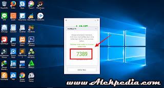 Silakan Masukan Id kode Verefikasi ke Aplikasi Line Android Kamu.