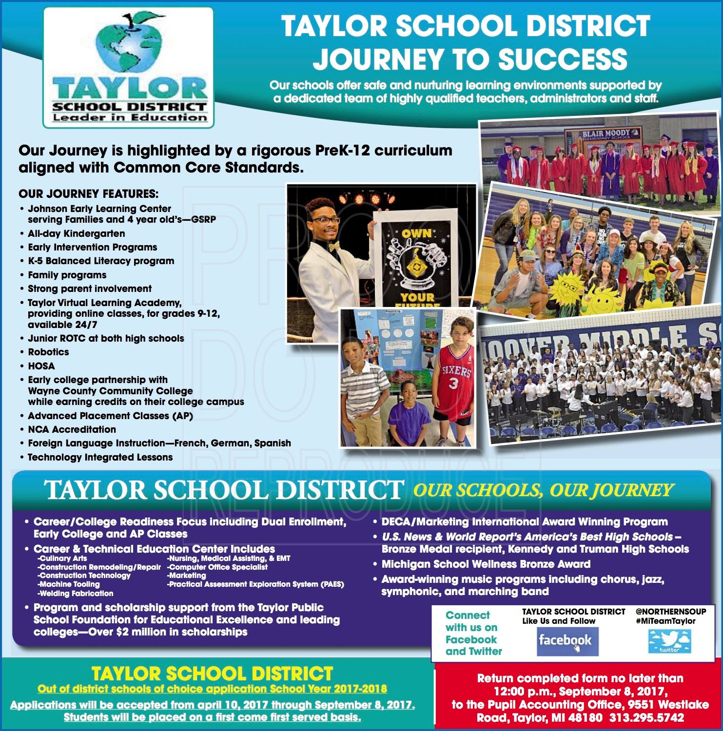 Talking taylor schools 2017 09 03 welcome back to the taylor schools 1betcityfo Images
