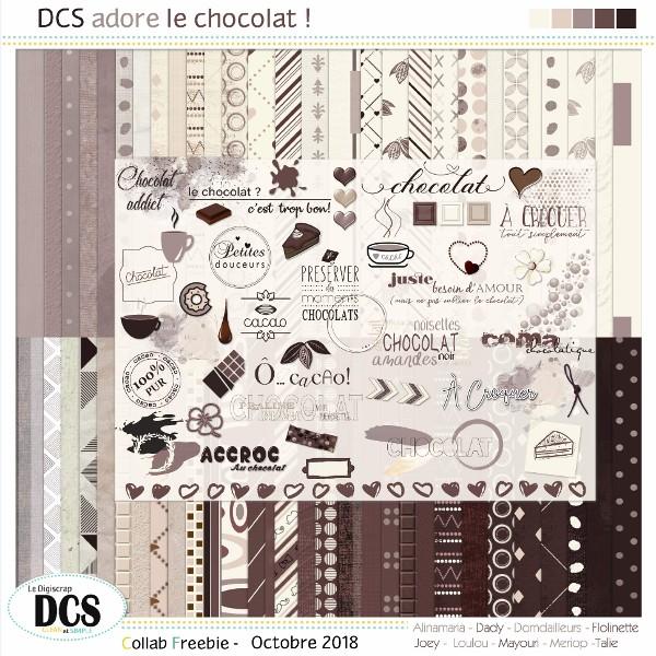 DCS adore le chocolat !