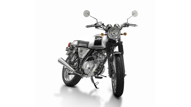 Astor Orcal 125, a new option classic look