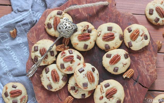 Pekannuss-Schoko-Cookies mit Geheimtipp!