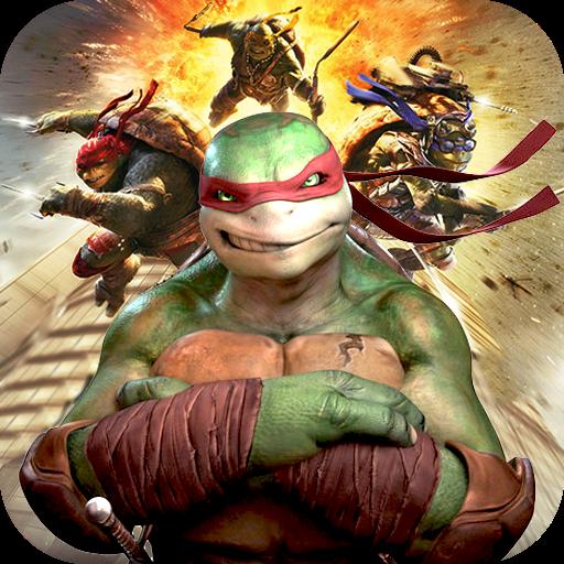 تحميل لعبة Superstar Ninja Turtle Fight Simulator Game 2018 v1.0 مهكرة وكاملة للاندرويد أموال لا تنتهي