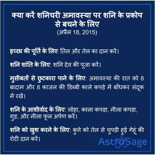Shanichari Amavasya par aaj chamkegi apki kismat - janiye abhi