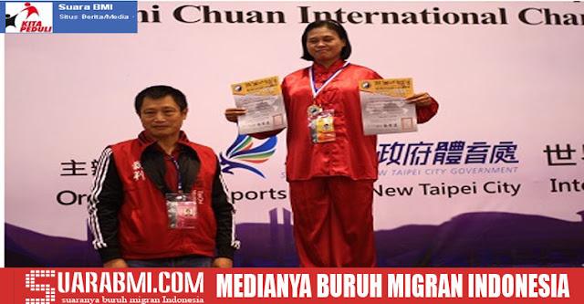Menjadi Juara Dunia Tai Chi Selama Menjadi TKW di Taiwan, Wanita Ini Akan Buka Perguruan Tai Chi Februari Nanti