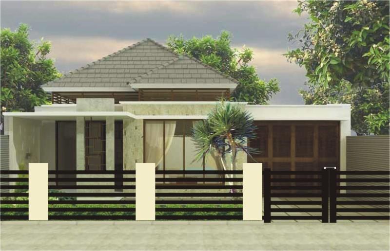 gambar desain fasat rumah idaman 1