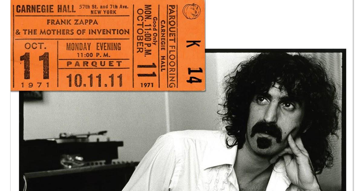 Frank Zappa Reviews Carnegie Hall