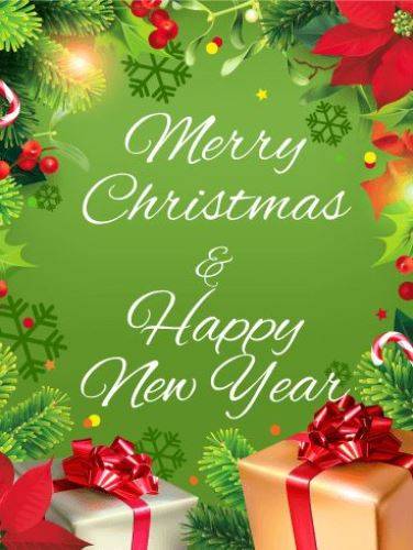 Merry christmas and happy new year 2018 wishes greetings images messages 4 5 merry christmas happy new year m4hsunfo