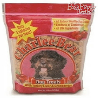 CHARLEE BEAR DOG TREATS 16 OZ. POUCH - 4 FLAVORS