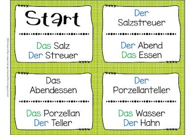 Zusammengesetzte Namenwörter spielerisch üben.
