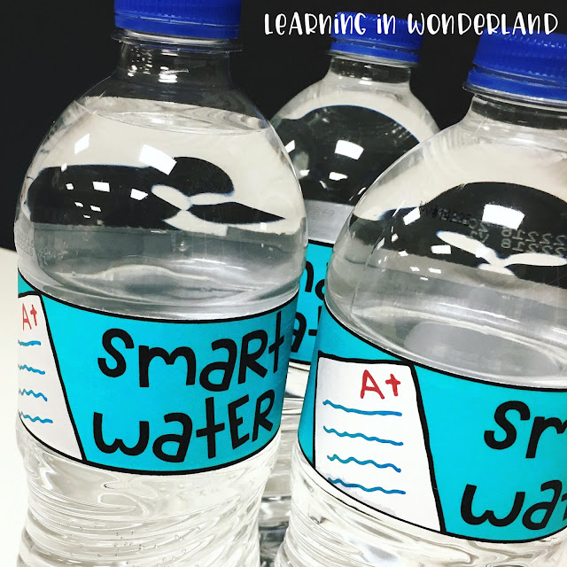 These Smart Waters are so fun! Great way to motivate and hydrate our little learners before testing!