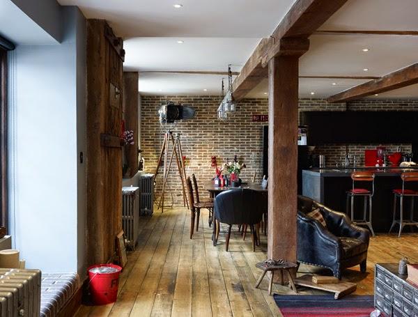 Un loft masculino y muy personal en Londres · A masculine loft in London