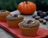 November - Perfect Whole Wheat Pumpkin Muffins