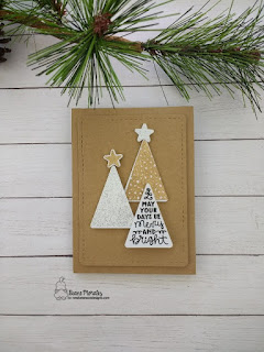 A Festive Forest a card by Diane Morales | Festive Forest Stamp Set by Newtons Nook Designs