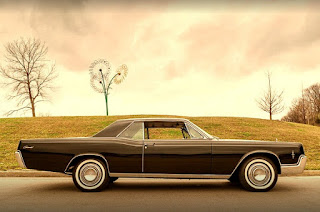 1966 Lincoln Continental Luxury Coupe Side Right