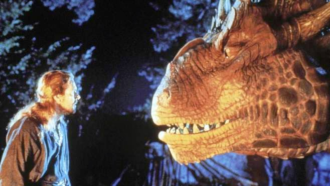 Dennis Quaid Sean Connery knight dragon Dragonheart