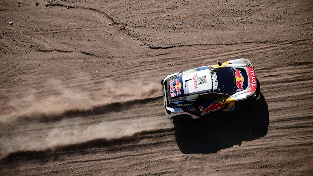 Driving on the edge: 2017 Dakar Rally enters stage 10
