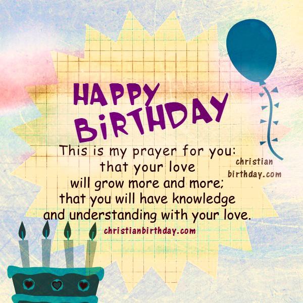 Christian Birthday Greetings Bible Verses Christian