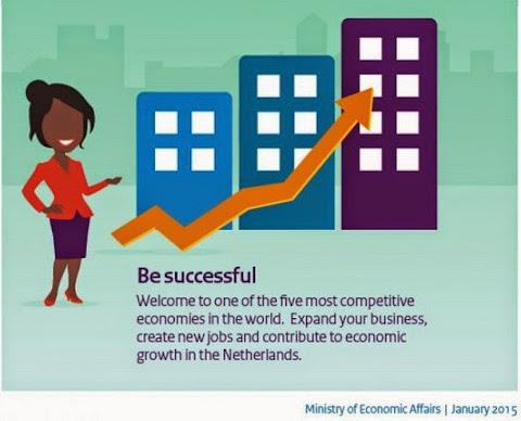 圖說: 預祝新創事業成功,圖片來源: 荷蘭經濟部
