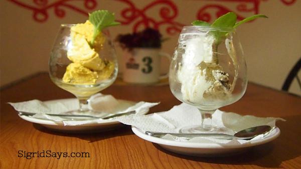 Sir Jess healthy ice cream