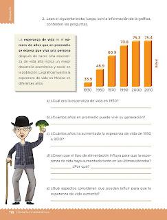 Apoyo Primaria Desafíos Matemáticos 4to. Grado Bloque III Lección 63 Los habitantes de México