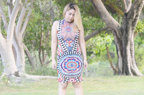 Aztec Bodycon Dress Among all of my selection in Fashion Mia , my favorite is…