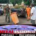 Sinergitas TNI Polri Dan Dibantu Warga Memperbaiki Polsek Ciracas