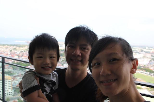 Malacca Melaka Larina Family Welfie