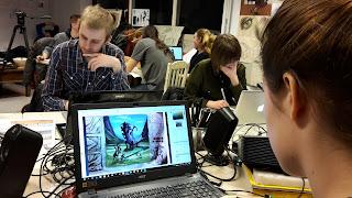 digitaal tekenen, photoshop, digitaal tekenen Utrecht, digitaal tekenen amsterdam, game art, game art opleiding, game art tekenles
