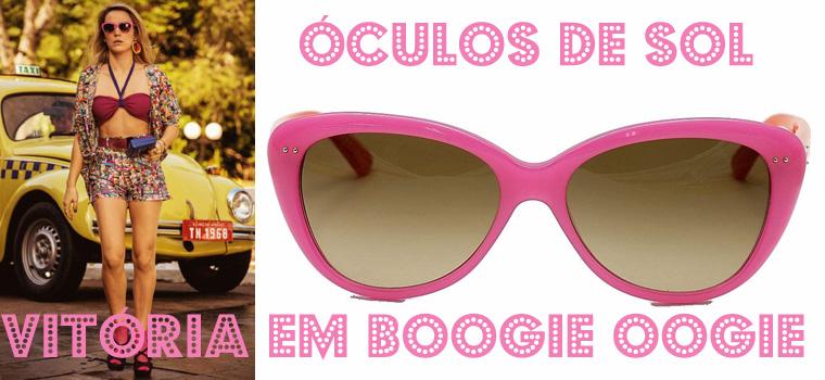 óculos de sol da Vitoria em Boogie Oogie(foto: divulgação/montagem lulu on the sky)