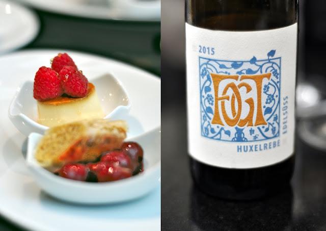 Dessert und Huxelrebe Beerenause Weingut Fogt