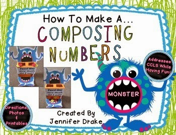 http://www.teacherspayteachers.com/Product/How-To-Make-A-Decomposing-Numbers-Monster-PLUS-Printables-FREE-1115679