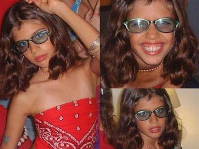 ffotos da modelo portuguesa Sara Sampaio em adolescente