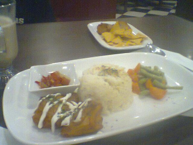 menu rice butter
