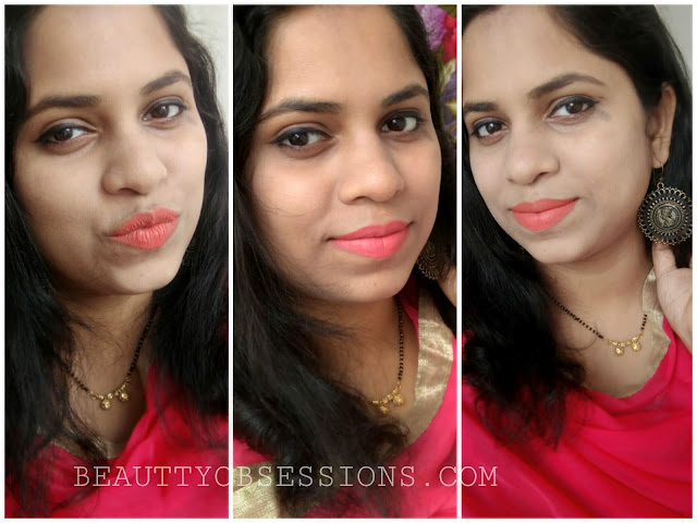 Wet n Wild MegaLast Catsuit Matte Liquid Lipstick 'Coral Corruption' - Review, Swatches