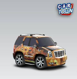 Cadillac Escalade 2007 Flame Skulls by William