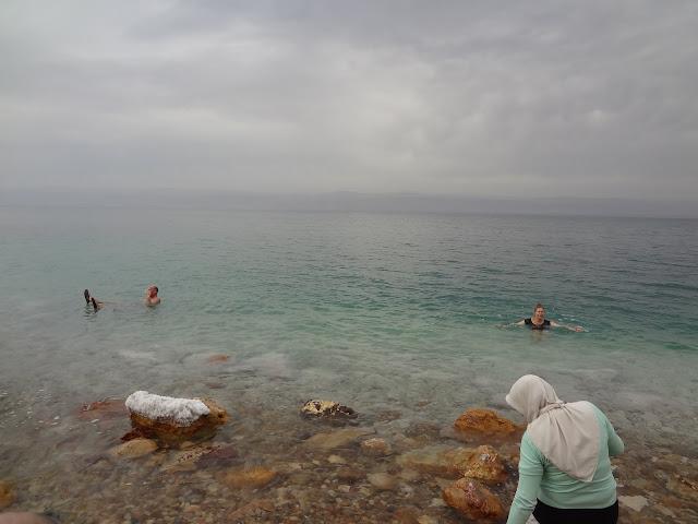 Aguas del mar Muerto