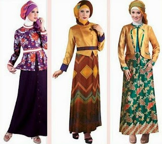 Trend Baju Batik Lebaran 2017