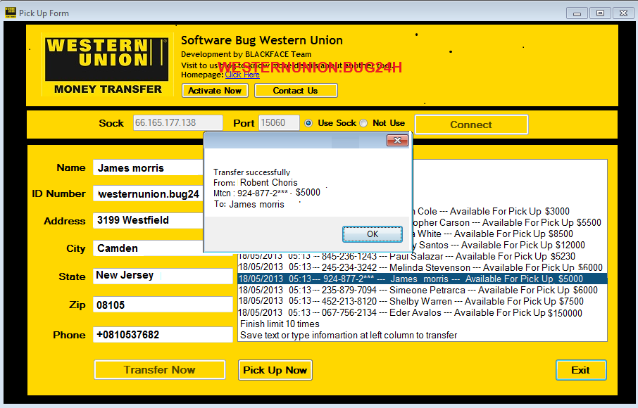 Western Union Online