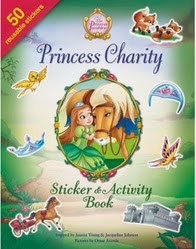 princess charity stick and activity book cover