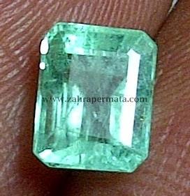 Batu Permata Emerald Beryl