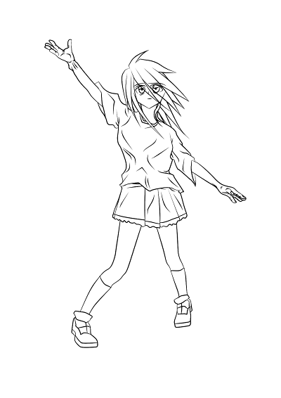Kaze no Chikara - Contornos