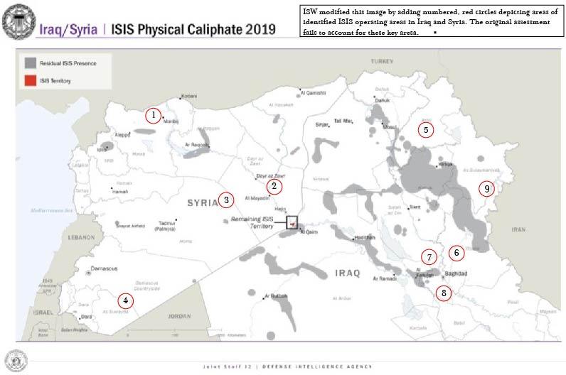 Kurdistan Karte 2019.Isw Blog Isis Resurgence Update April 2019