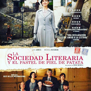 La Sociedad Literaria y el pastel de piel de patata.  The Guernsey Literary and Potato Peel Pie Society