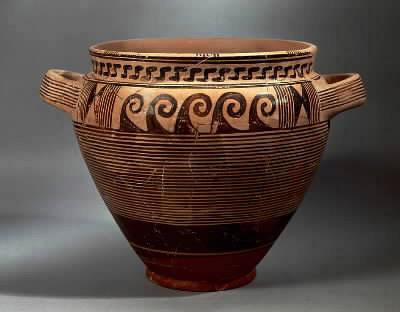 Corinto grecia for Vaso greco a due anse