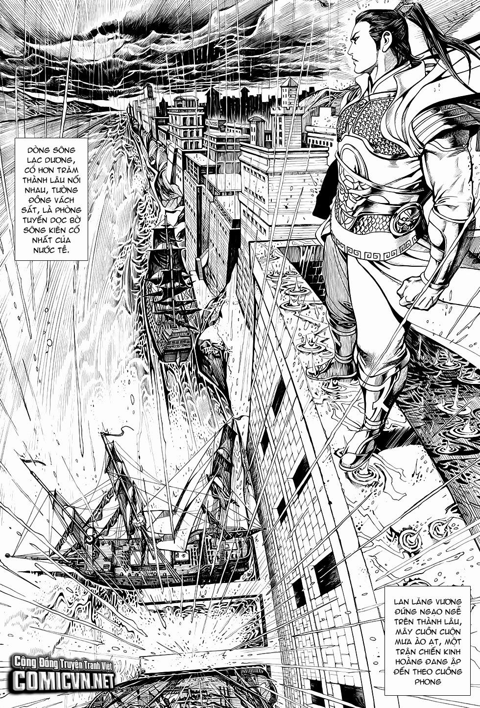 Chiến Phổ chapter 1: chiến thần lan lăng vương trang 12
