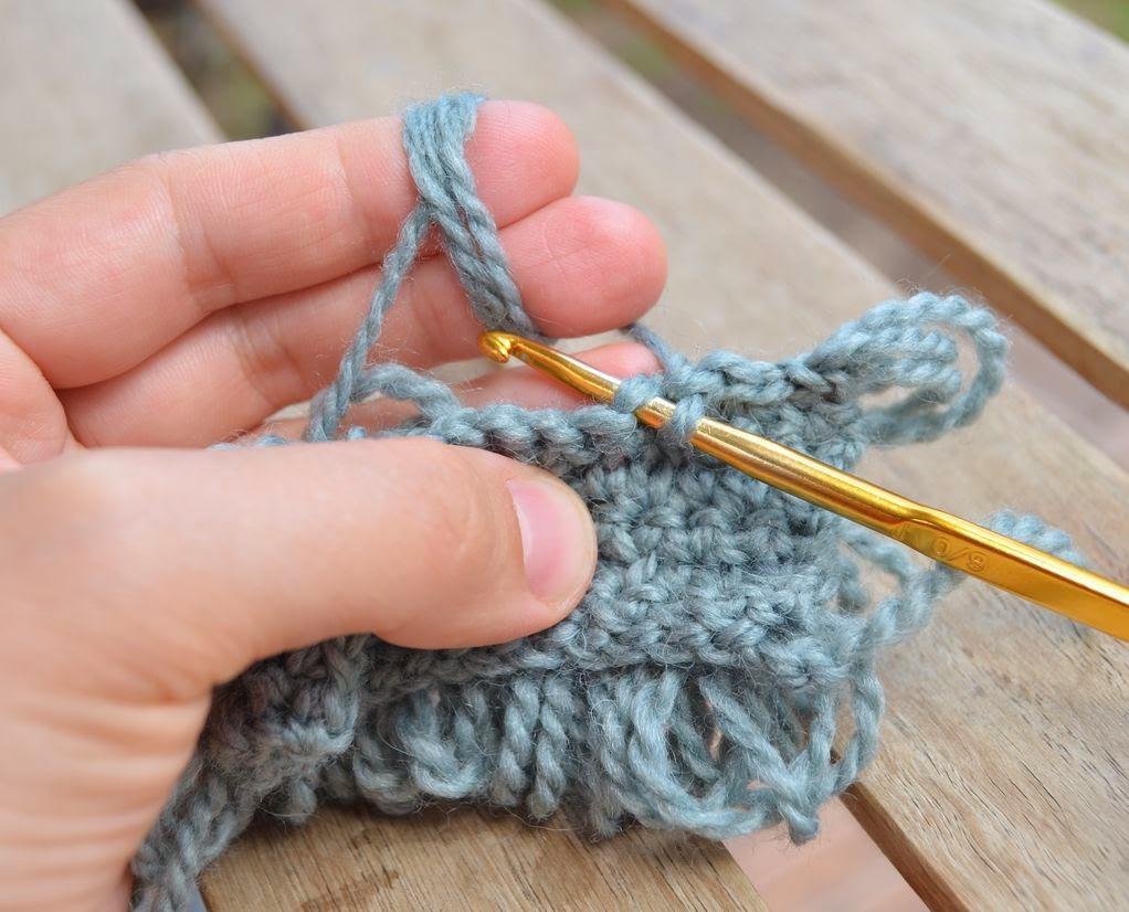 Crochet for beginners. Air crochet loop