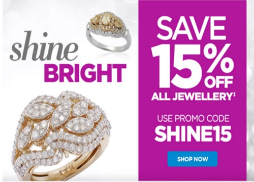 The Shopping Channel Flash Sale Extra 15% Off Jewellery Promo Code