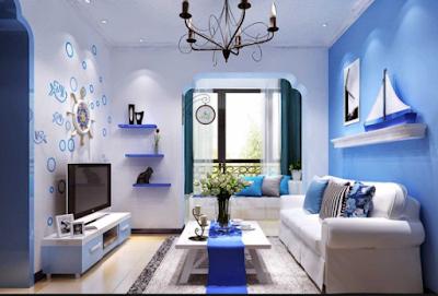 Inspirasi Rumah Nuansa Biru Terbaru 3