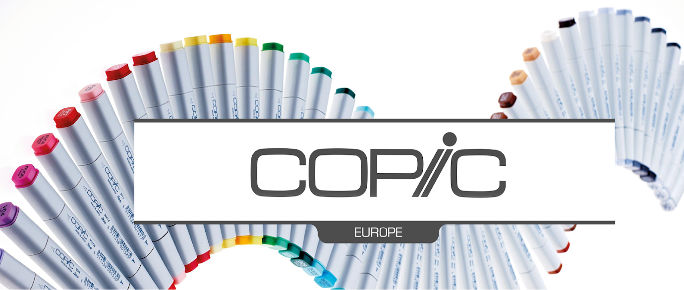 I am a Design-team Member at Copic Europa