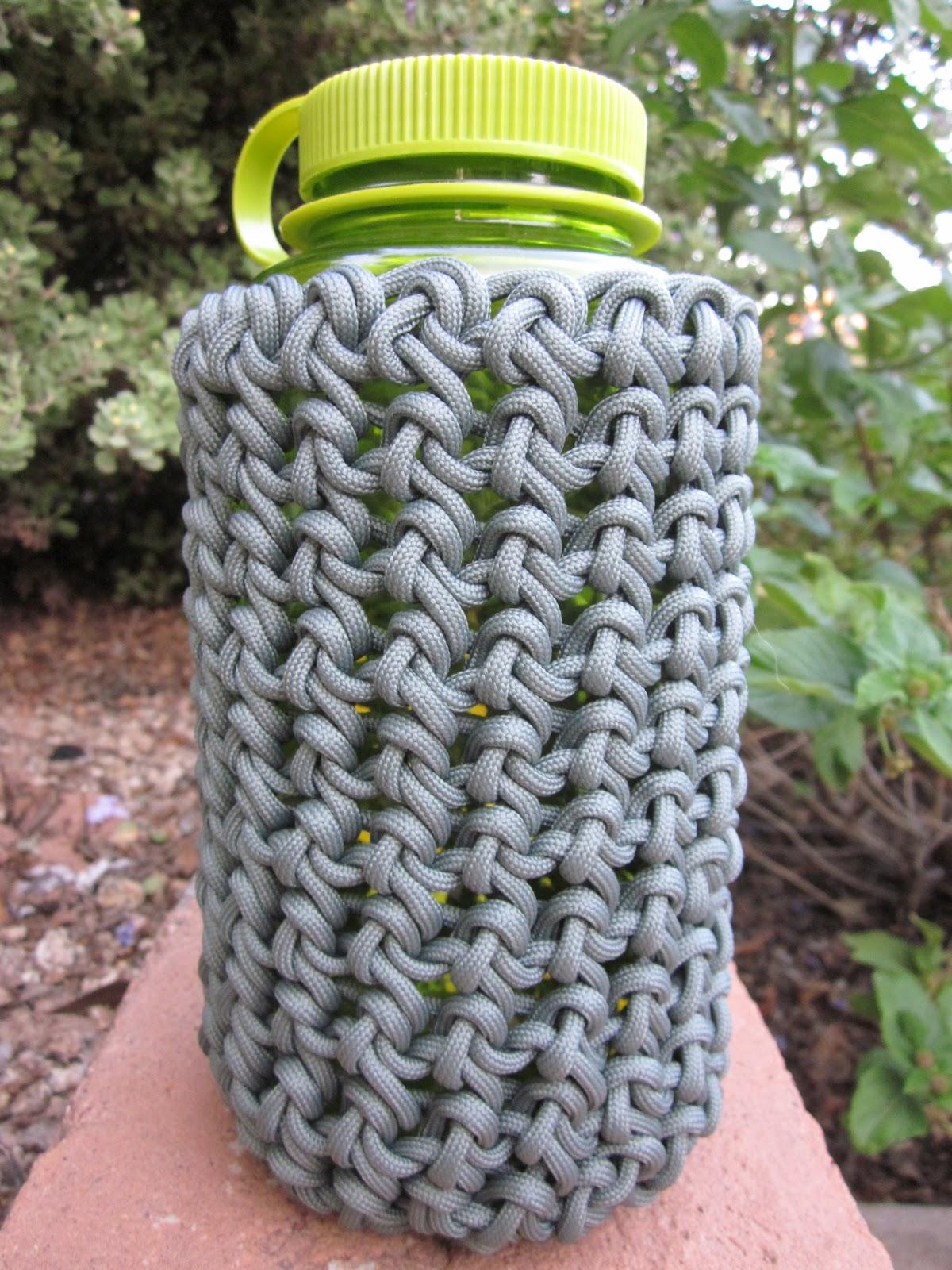wearartbyjulie: 550 Paracord Water Bottle Holders